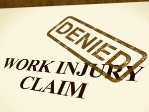 A workers comp and personal injury lawyer will help you with denied workers compensation claims.