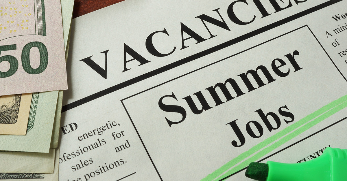 Summer Jobs And Workers Compensation